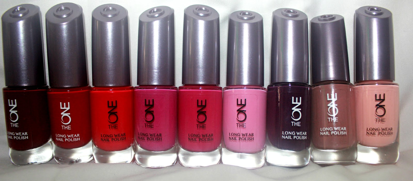 Oriflame The One Long Wear Nail Polish Review Makeup